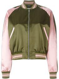 куртка-бомбер с вышивкой Alexander McQueen