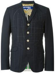 пиджак с простроченной отделкой Junya Watanabe Comme Des Garçons Man