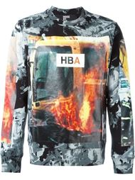 свитер с принтом Hood By Air