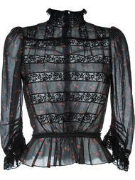 блузка с принтом вишен Marc By Marc Jacobs