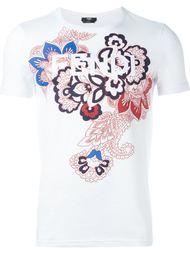футболка с принтом пейсли  Fendi
