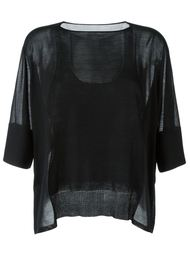 свитер свободного кроя  Maison Margiela