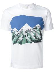футболка с принтом гор Comme Des Garçons Shirt
