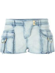 джинсовые шорты Balmain