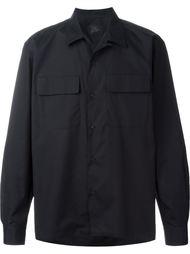 рубашка с нагрудными карманами Yohji Yamamoto