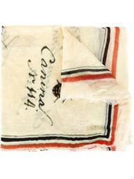 шарф с принтом насекомых Faliero Sarti