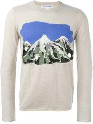 свитер с принтом гор  Comme Des Garçons Shirt