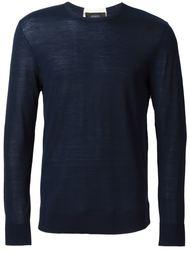 свитер с контрастной полоской на спине Joseph