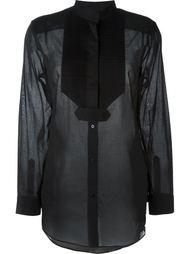 блузка с нагрудником  Maison Margiela