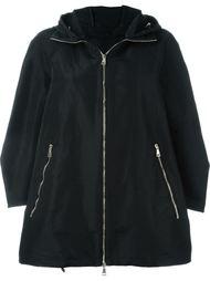 расклешенное стеганое пальто Moncler