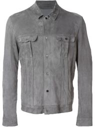 куртка с накладными карманами Salvatore Santoro