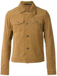 куртка с накладными карманами  Blk Dnm