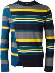 свитер в полоску Jil Sander