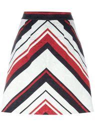 юбка А-образного кроя  с принтом  Dolce & Gabbana