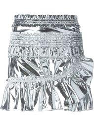 юбка 'Jeanne' с металлическим отблеском  Isabel Marant