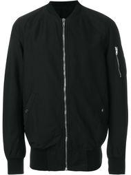куртка-бомбер с карманом на рукавве Rick Owens DRKSHDW