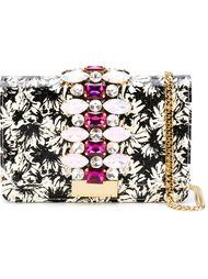 декорированная  сумка 'Flower' Gedebe