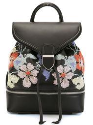 рюкзак с вышивкой крестиком Alexander McQueen