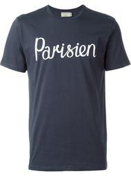 футболка с принтом  Maison Kitsuné