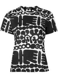 футболка-поло с принтом  Junya Watanabe Comme Des Garçons