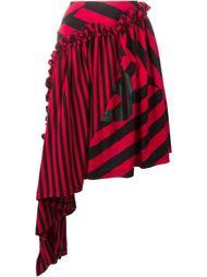 юбка асимметричного кроя в полоску Y-3
