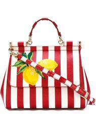 полосатая сумка 'Miss Sicily' Dolce & Gabbana