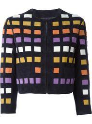 пиджак с принтом в квадрат Drome