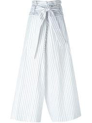 полосатые свободные брюки Marni