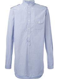 рубашка в полоску  Wooster + Lardini