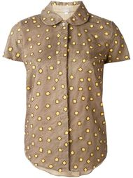 рубашка с вышивкой  Jupe By Jackie