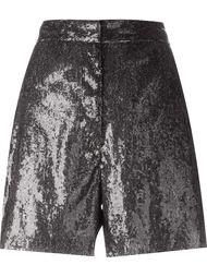 шорты с пайетками  Mm6 Maison Margiela