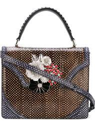 средняя сумка через плечо 'Flower' Alexander McQueen