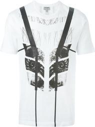 футболка с геометрическим рисунком Les Hommes Urban