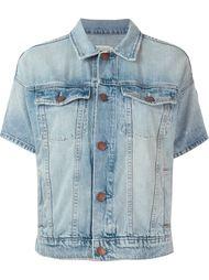 джинсовая куртка с короткими рукавами Current/Elliott