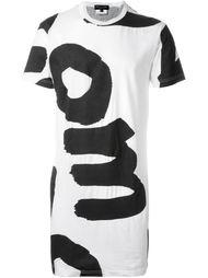 футболка с крупным текстом Comme Des Garçons Homme Plus