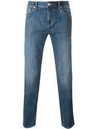 джинсы кроя слим   Burberry Brit