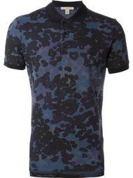 футболка-поло с камуфляжным принтом  Burberry Brit