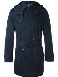 пальто-тренч с капюшоном Burberry Brit
