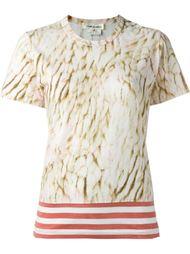 футболка с абстрактным принтом  Comme Des Garçons