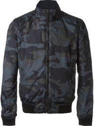 куртка-бомбер с камуфляжным принтом  Woolrich