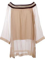 свободная блузка  Alberta Ferretti