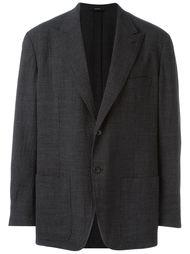 пиджак в мелкую клетку Hermès Vintage