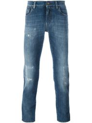 distressed slim fit jeans  Dolce & Gabbana