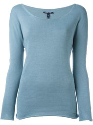 scoop neck sweater Woolrich