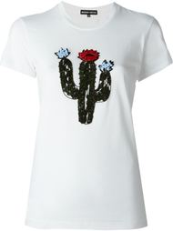 футболка с декорированным принтом кактуса Markus Lupfer