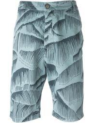 шорты с графическим принтом Vivienne Westwood Anglomania