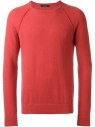 свитер с рукавами реглан  Roberto Collina