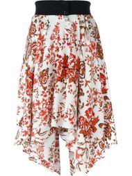 юбка с цветочным принтом  J.W. Anderson
