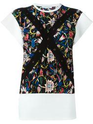 блузка с цветочным принтом  J.W. Anderson