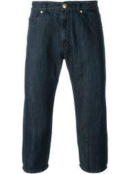 укороченные джинсы  Versace